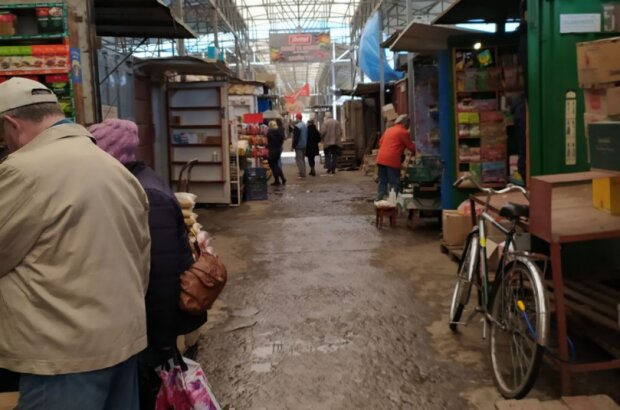 На рынке, фото Знай.ua