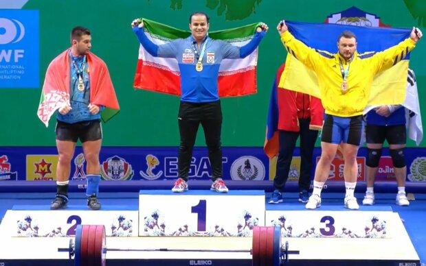 Дмитро Чумак завоював бронзову медаль у поштовху