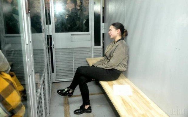 Модний вирок: Зайцева показала гламур у суді