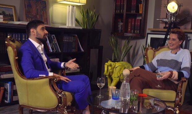Віталій Козловський і Сніжана Єгорова, скріншот з відео