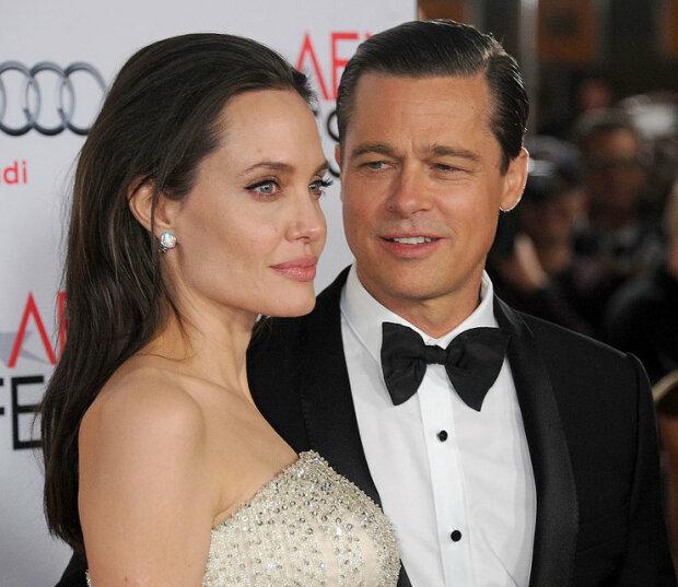 Анджелина Джоли и Брэд Питт, фото: Getty Images