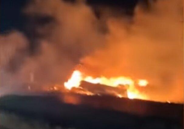 Авіатроща АН-26, скріншот відео