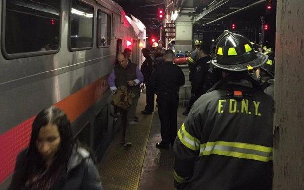 Опубликованы первые кадры с трагедии в метро Нью-Йорка