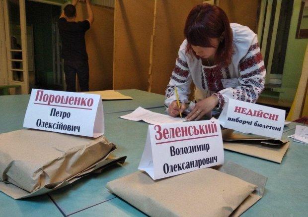 как украинцы портили бюллетени