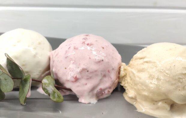 Домашнее мороженое, скриншот из видео
