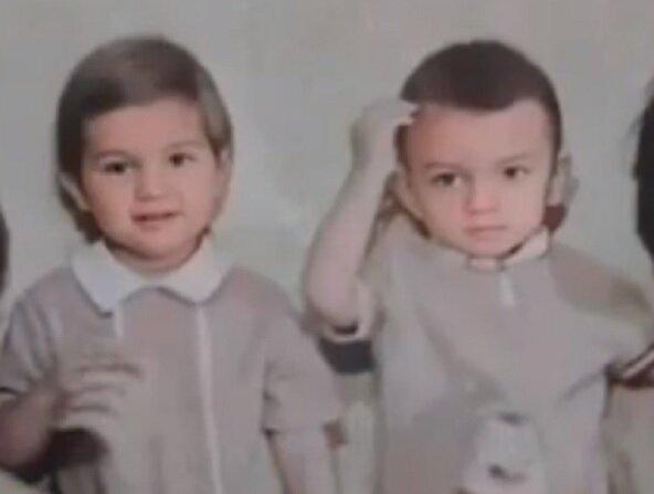 """Кіркоров вразив трепетними архівними фото з братом, просто дві краплі води: """"Усім серцем..."""""""