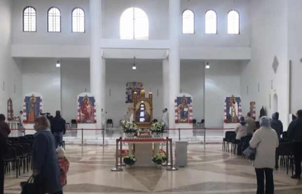 Церковь, скриншот: YouTube