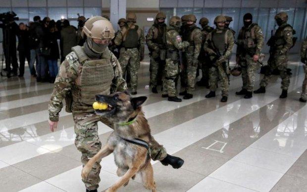 Украина и США устроили зрелищные учения спецназа