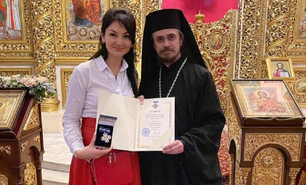 Людмила марченко получила орден княгини Ольги, фото: Facebook