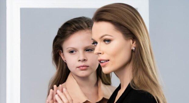 Ольга Фреймут с дочкой, фото с Instagram