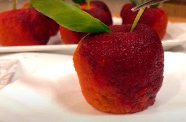 "Закуска ""Яблуко"", кадр з відео"