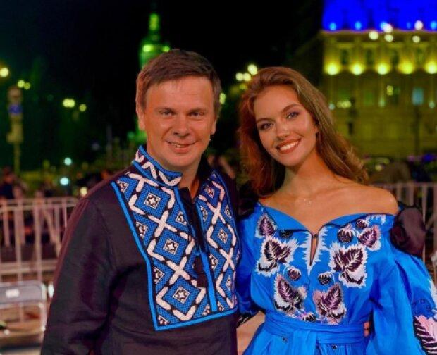 Дмитро Комаров та Олександра Кучеренко, фото з Instagram