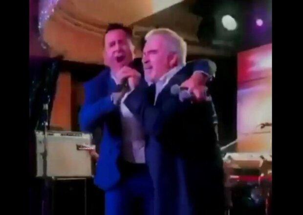 Костюшкин и Меладзе, скриншот с видео