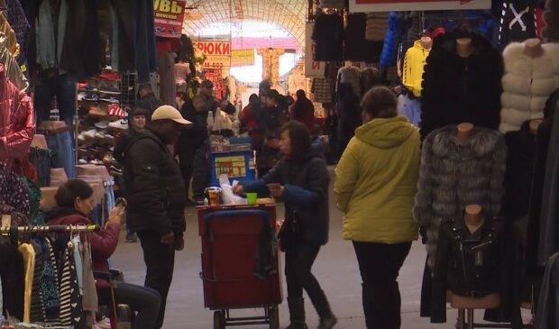рынок Барабашово, скриншот из видео