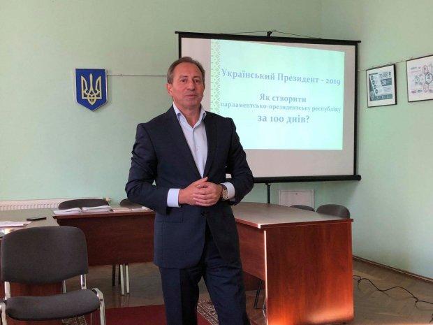 """Николай Томенко, лидер Общественного Движения """"Рідна країна"""""""