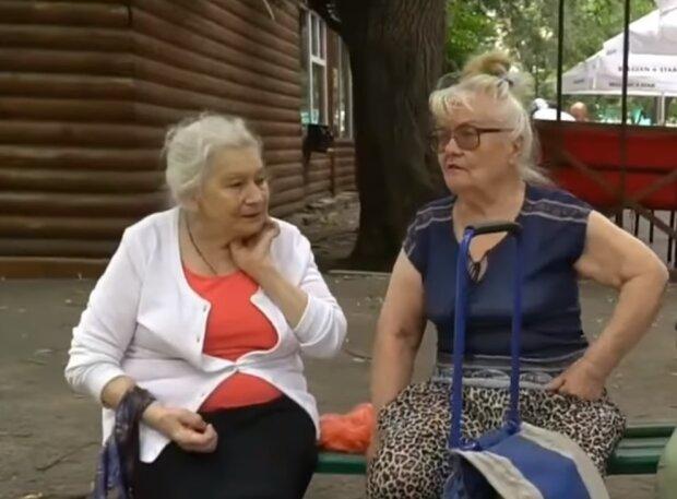 Пенсіонерки, скріншот відео