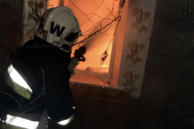 Пожар в Хмельницкой области, фото: ГСЧС Хмельницкой области