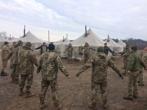 Украинские военные, фото Укринформ