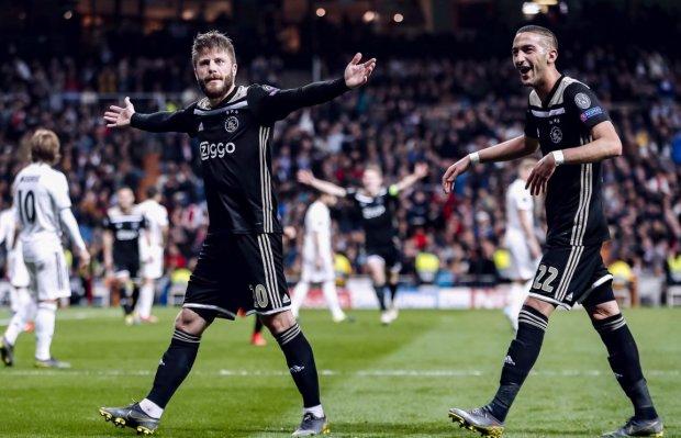 Аякс влаштував Реалу погром в Мадриді і вийшов у чвертьфінал Ліги чемпіонів