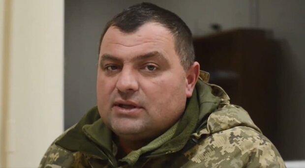 подполковник ВСУ Богдан Дмитрук, скриншот с видео