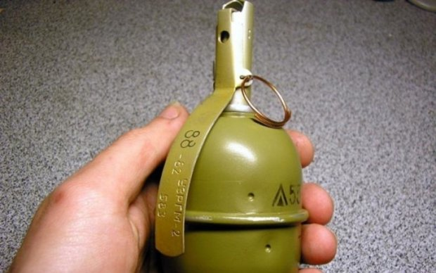 В запорожскую школу подбросили боевую гранату