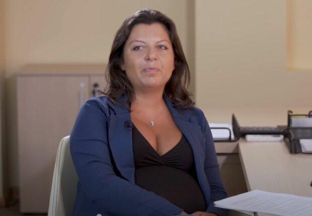 Маргарита Симоньян, скріншот відео