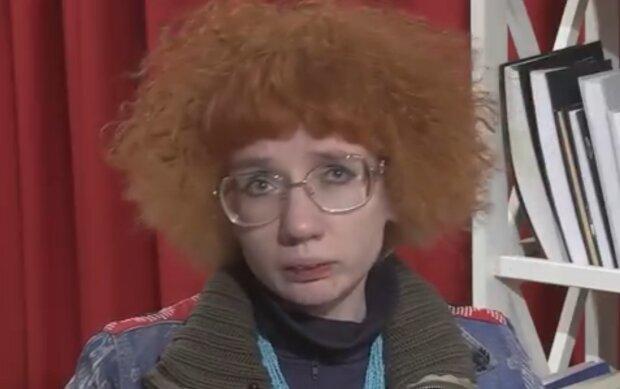 Євгенія Більченко, кадр з відео