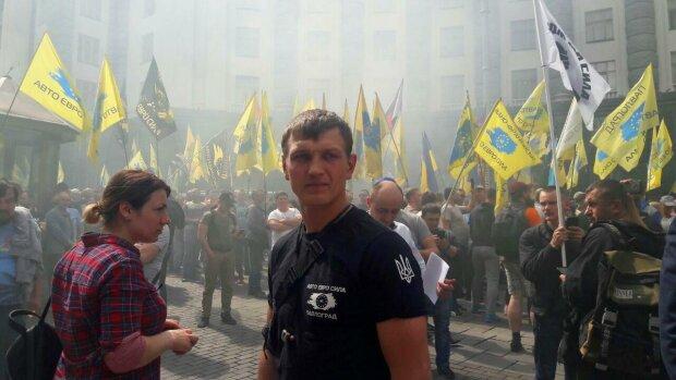 АвтоЕвроСила, митинг - фото Знай.ua