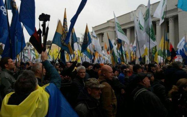 Мітинг під Радою: активісти поставили жорсткий ультиматум владі
