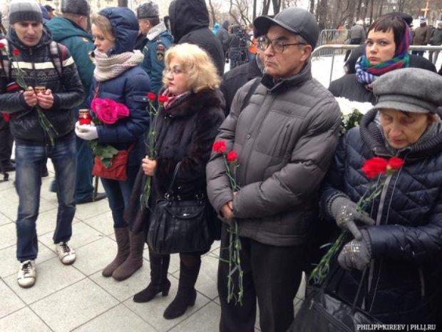 У Москві прощаються з Борисом Немцовим