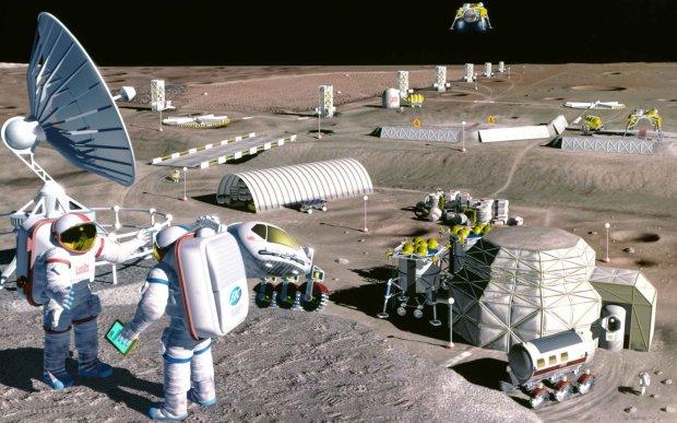 Колонізація Місяця: вчені показали перші будиночки для заселення