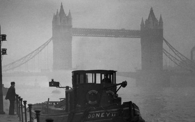 """Ученые объяснили, как """"Лондонский смог"""" убил 12 000 человек"""