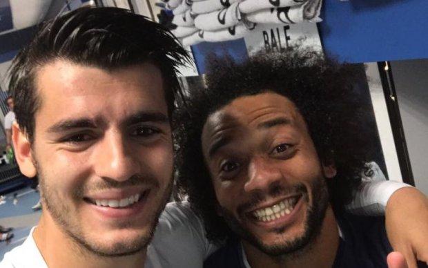 Футболісти Реала відточують свою техніку за допомогою шкарпеток