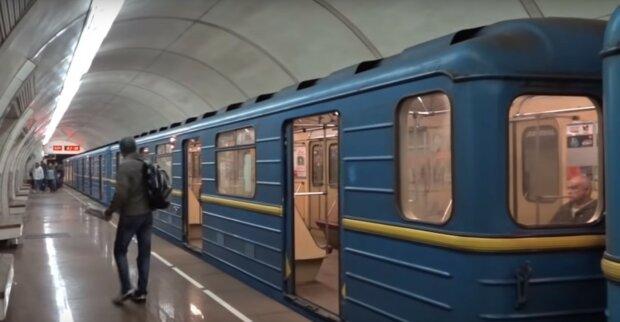 киевское метро, скриншот с видео