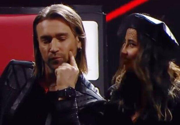 Олег Винник и Надя Дорофеева, скриншот с видео