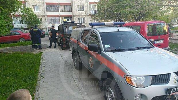 Во Франковске обезвредили мину, фото: Telegram ЧАТ 112