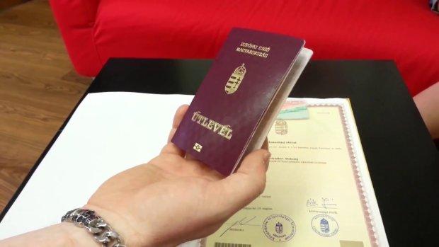 угорський паспорт