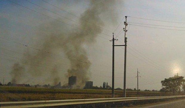 На Закарпатті цілий день горять поля (фото)