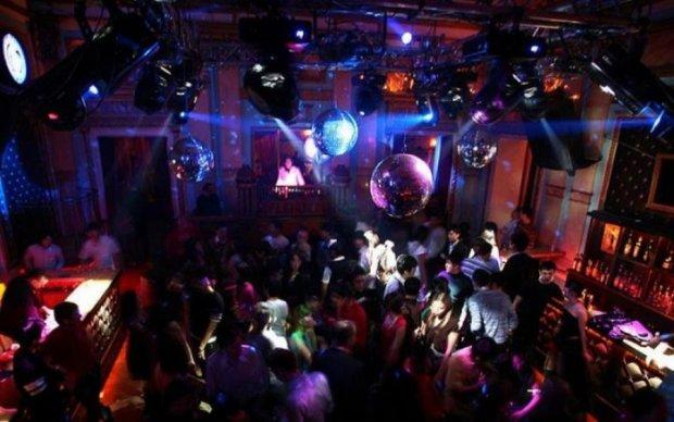 драка ночном клубе