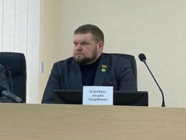 Народный депутат Андрей Клочко, фото: Facebook