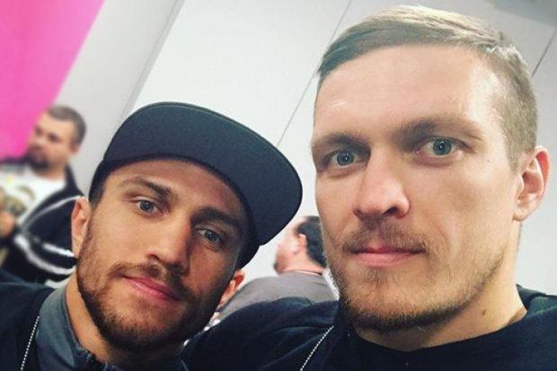 Усик и Ломаченко