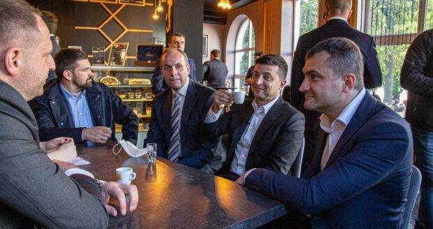 Зеленський на каві у Хмельницькому, фото:president.gov.ua