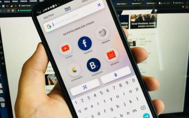 Opera випустила мобільний браузер Touch