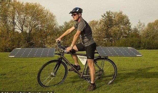 Велосипед на солнечных батареях стоит 80 тысяч евро