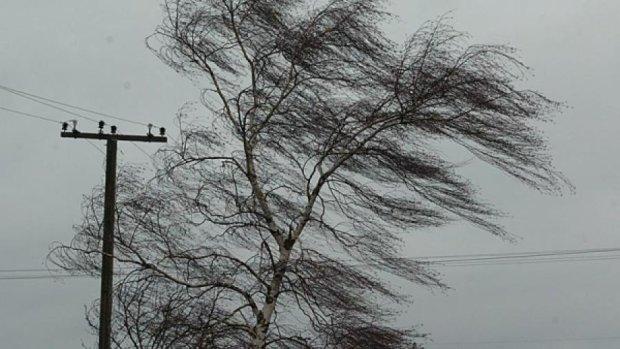 По всей Украине - штормовое предупреждение