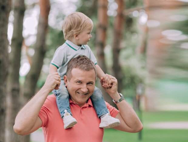 Горбунов з сином Ванею, фото Instagram