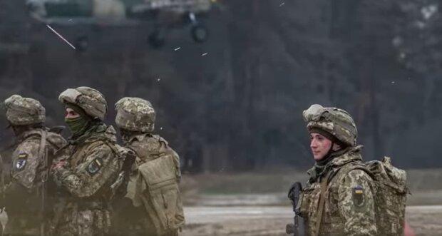 українські військові, скріншот з відео
