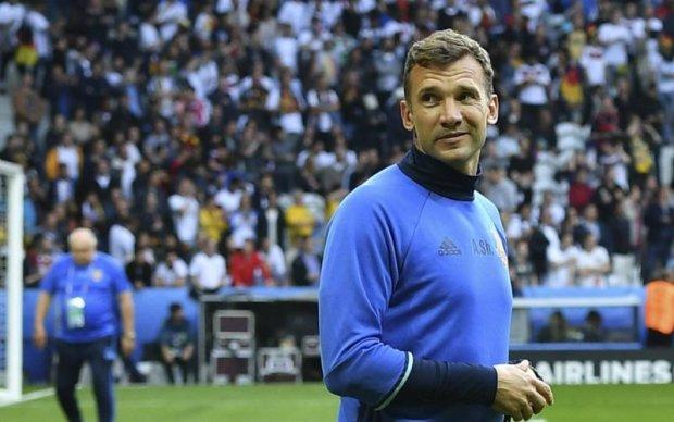 Шевченко отметился голом в матче легенд двух континентов