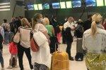 в аеропорту, фото: Уніан