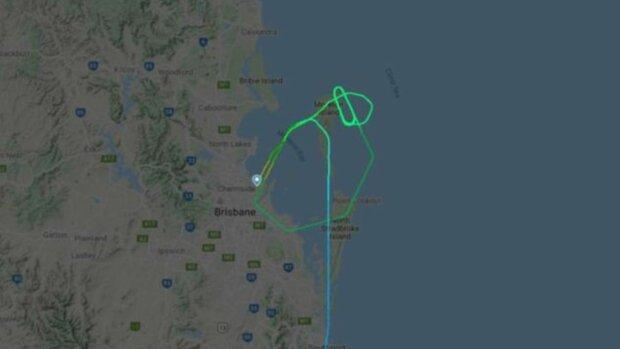Схема польоту, фото: 7News
